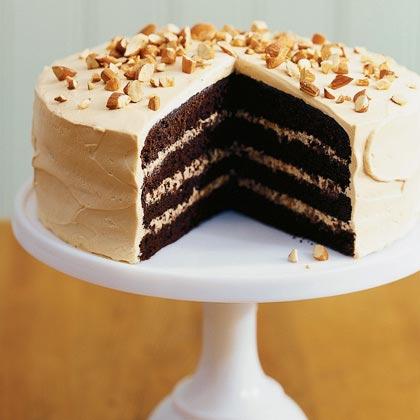 Toffee Crunch CakeRecipe