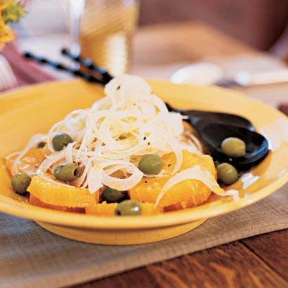 Fennel-Orange Salad with Green Olives