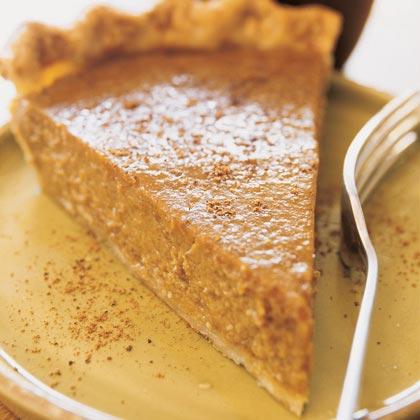Soy Milk Pumpkin Pie