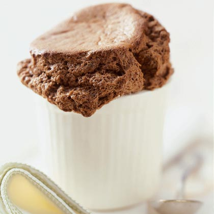 Dark Chocolate Soufflé