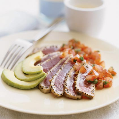Seared Tuna with Japanese Salsa Recipe