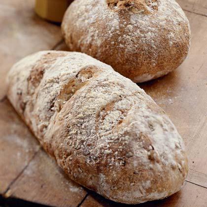 Leek and Walnut Bread