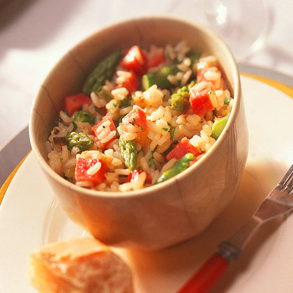 Ham-and-Asparagus Risotto
