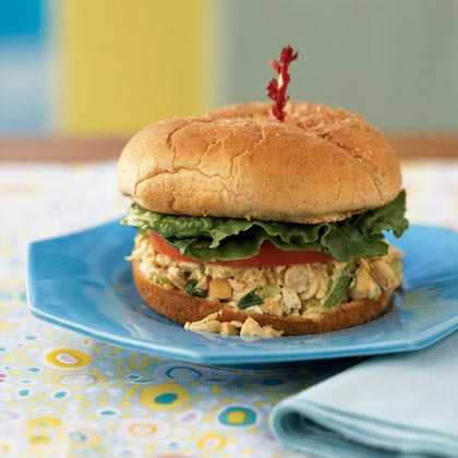 Cashew Chicken Salad Sandwiches
