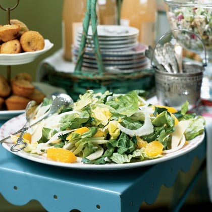 Fennel, Orange, and Parmigiano Salad