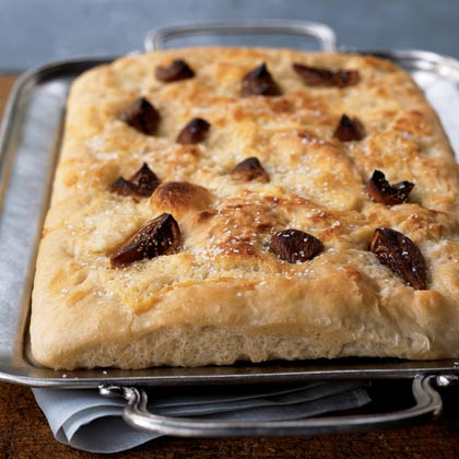 Fig and Mascarpone Focaccia Recipe