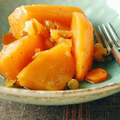 Sweet Potato and Carrot Tzimmes