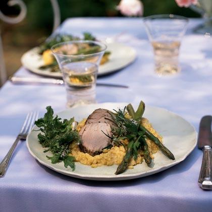Rosemary and Pepper-Crusted Pork TenderloinRecipe