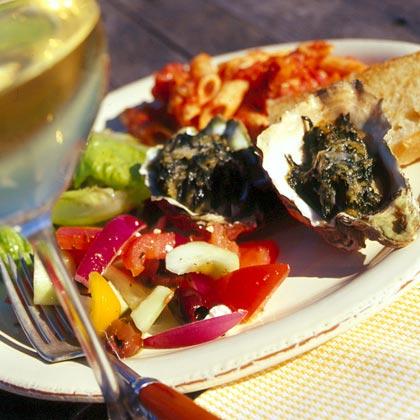 Baked Oysters FlorentineRecipe