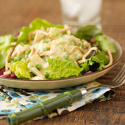 Crunchy Tuna-and-Almond Salad