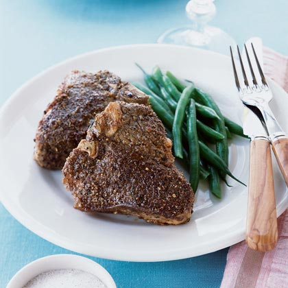Lamb Chops With Spiced Salt Rub