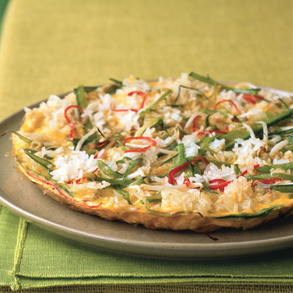Crispy Rice Omelette
