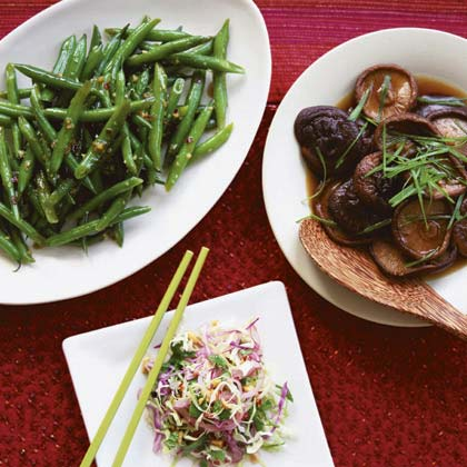 Soy-Braised Mushrooms Recipe