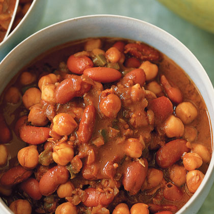 Vegetarian Chili with Chocolate