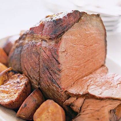 Chili-Rubbed Roast Beef Recipe