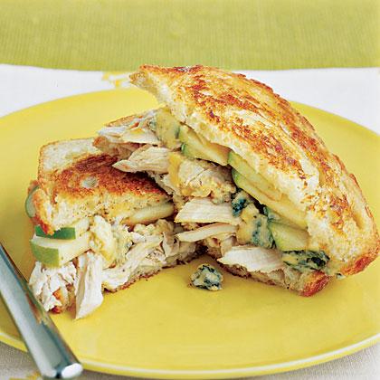 Chicken Sandwiches with Melted CheeseRecipe