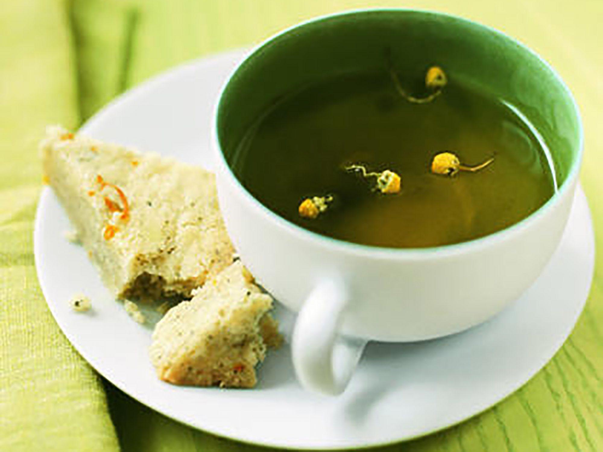 Lemon-Chamomile Shortbread