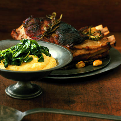 Pan-Roasted Veal with Rosemary and Garlic Recipe