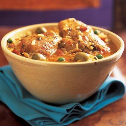 Asopao de Pollo (Traditional Chicken Asopao)