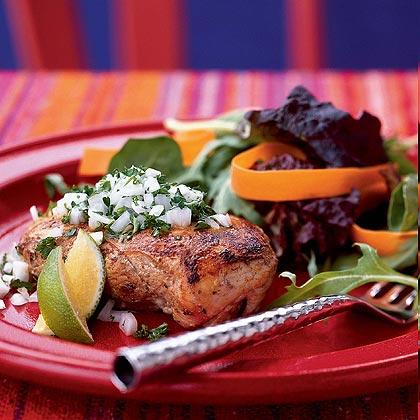Pollo Rancho Luna (Rancho Luna Chicken) Recipe