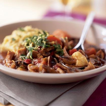Wild Mushroom Stew with Gremolata Recipe