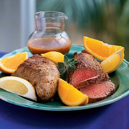 Filete de Cerdo con Adobo (Marinated Pork Tenderloin)