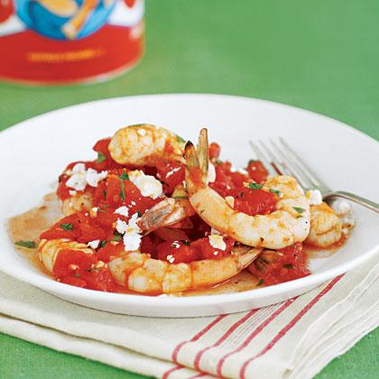 Shrimp à la Grecque