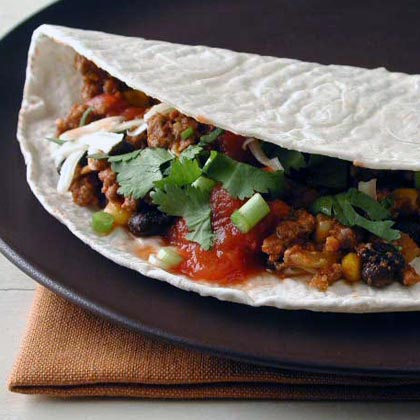 Tex-Mex Beef Tacos