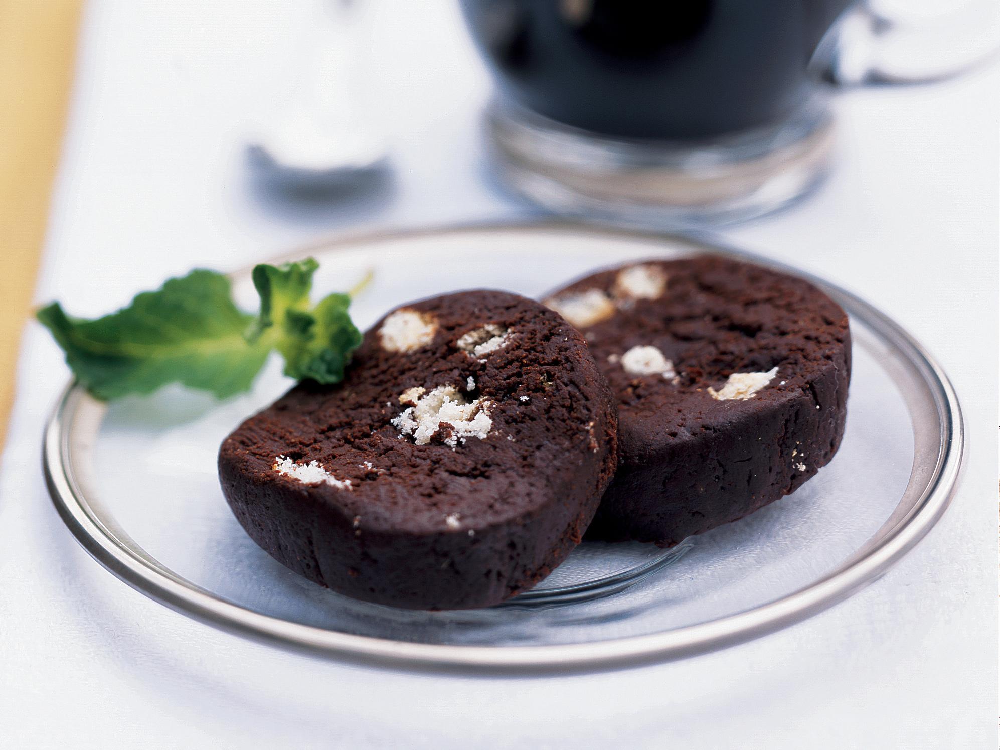 Sweet Chocolate Log