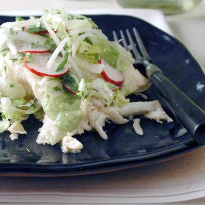 Green Enchiladas with Crab Recipe