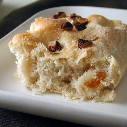 Toasted Hazelnut Focaccia Recipe