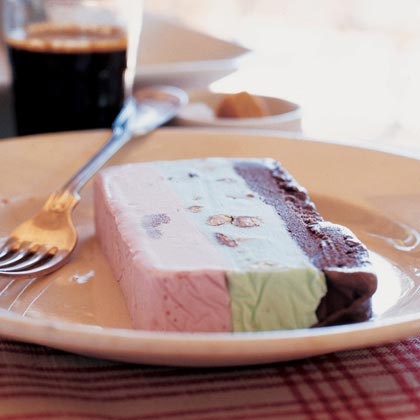 Spumoni Ice Cream Terrine Recipe