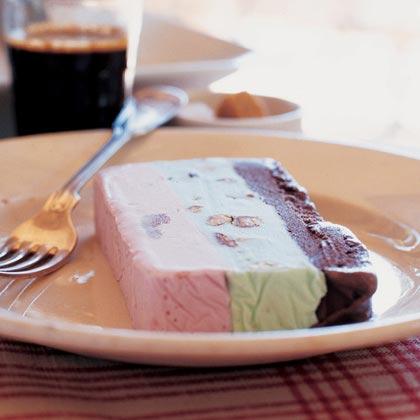 Spumoni Ice Cream Terrine