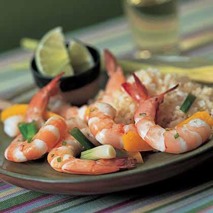 Steamed Lemon Grass Shrimp Recipe