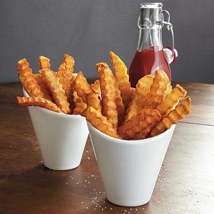 Crinkle-Cut Fries Recipe