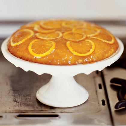 Honey-Orange Upside-Down Cake