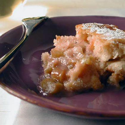 Rhubarb Pudding CakeRecipe