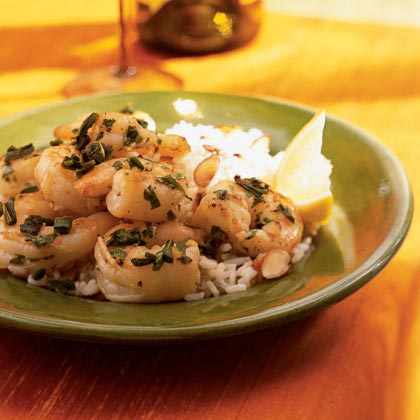 Shrimp-Poblano Rice