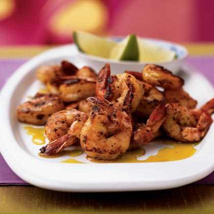 Spiced Shrimp with Avocado Oil