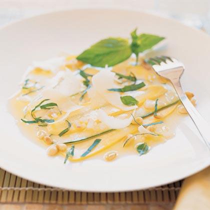 Chef Paul Bertolli's Zucchini Carpaccio