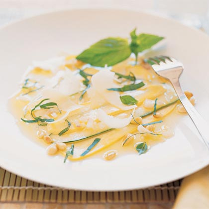 Chef Paul Bertolli's Zucchini CarpaccioRecipe