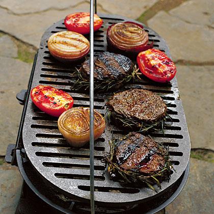 Balsamic-Basted Steaks