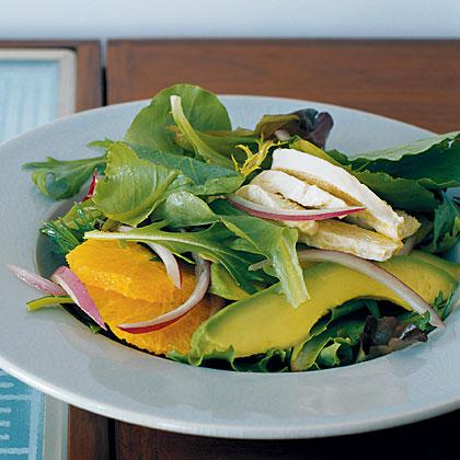 Chicken, Avocado, and Orange Salad