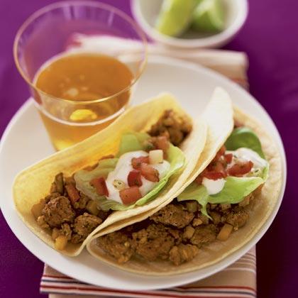 Chorizo Soft Tacos Recipe | MyRecipes