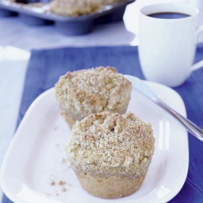 Brown Sugar-Banana Coffee Cakes Recipe