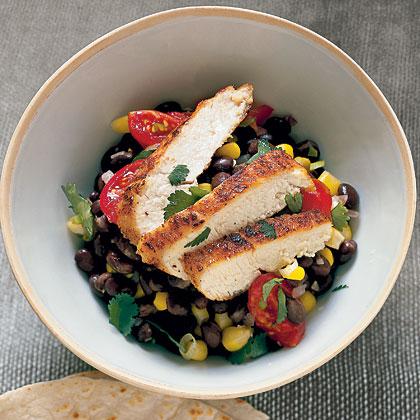 Cumin Chicken with Black Beans