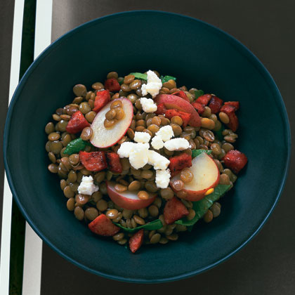 Lentil Stew with Sausage and Potatoes Recipe