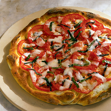 Start with frozen pizza dough for a super-easy homemade pizza.Pizza Margherita Recipe