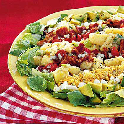 Potato Cobb Salad Recipe