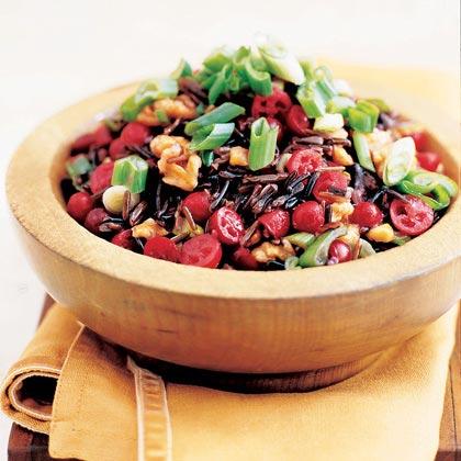 Wild Rice and Cranberry Salad Recipe